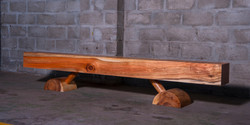 fbs - cow bench, 2500 l x 320 w x 420 h
