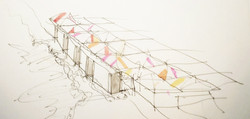 concept sketch for new precinct development