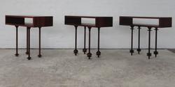 children side table collection, 700 l x 320 w x 600 h, jarrah