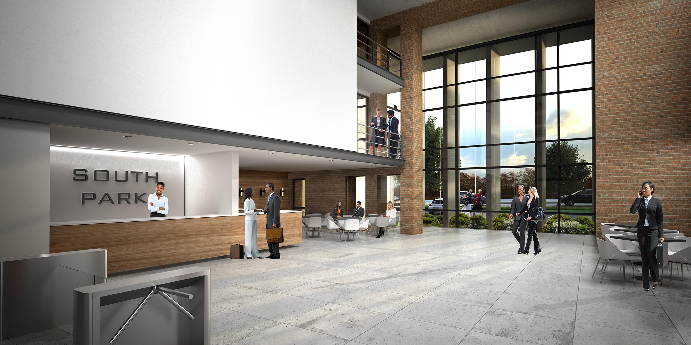 medical precinct, interior