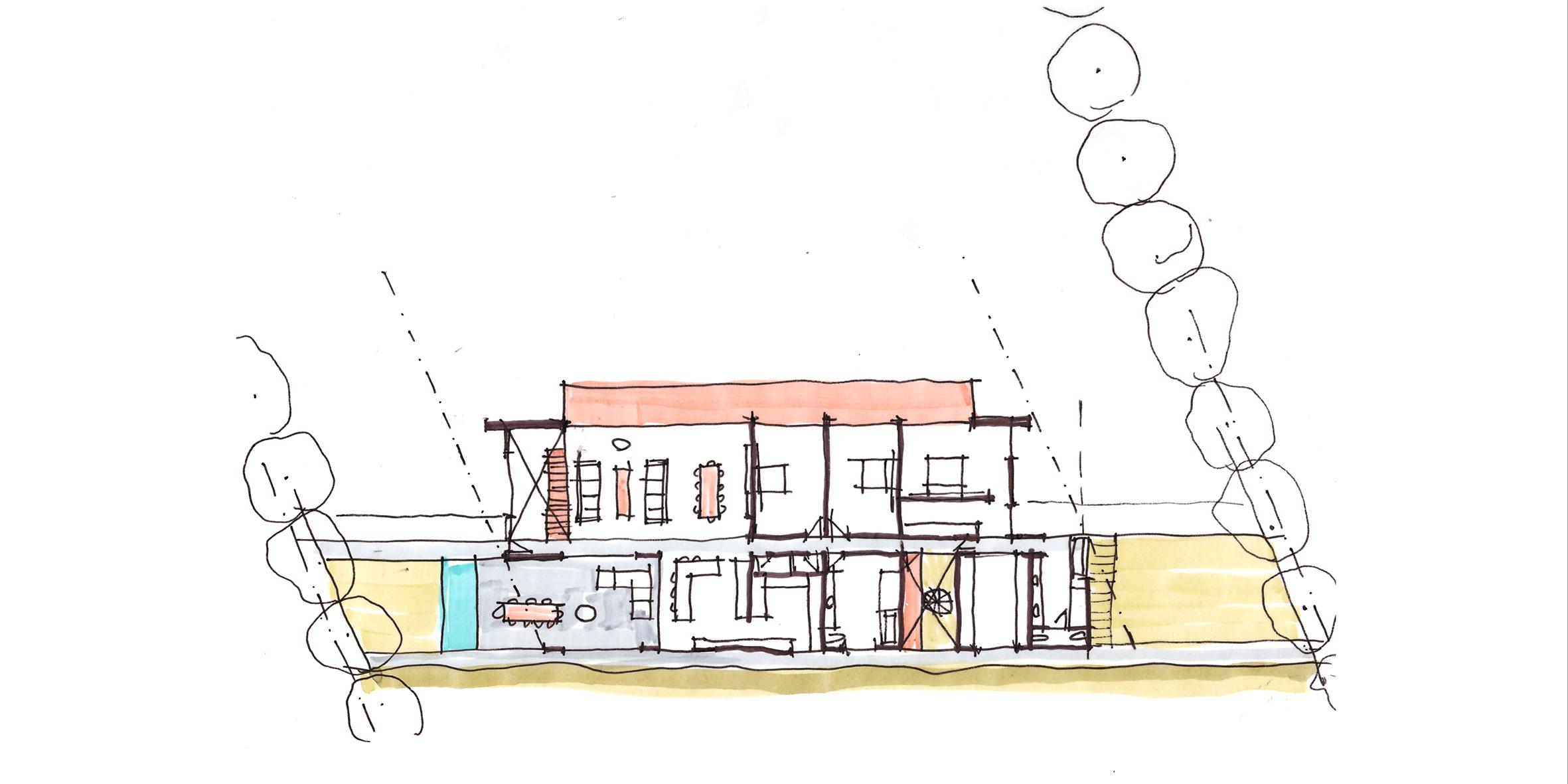 house miglietta, concept plan