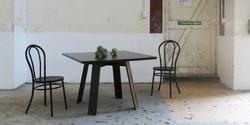 seun table, 1100 l x 1100 w x 730 h, weng