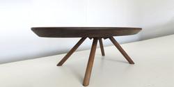 ovate table, 1400 l x 700 w x 400 h,
