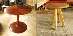 table stool and sepal table
