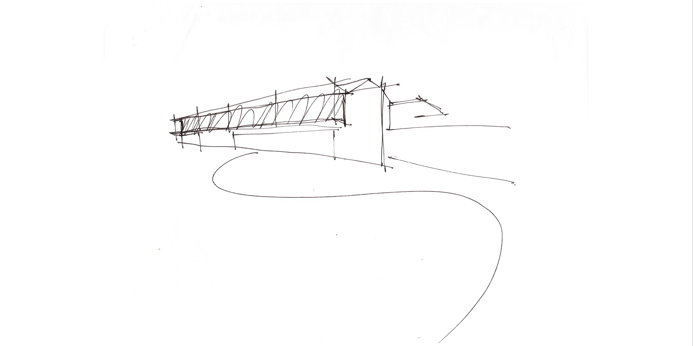 house miglietta, concept sketch
