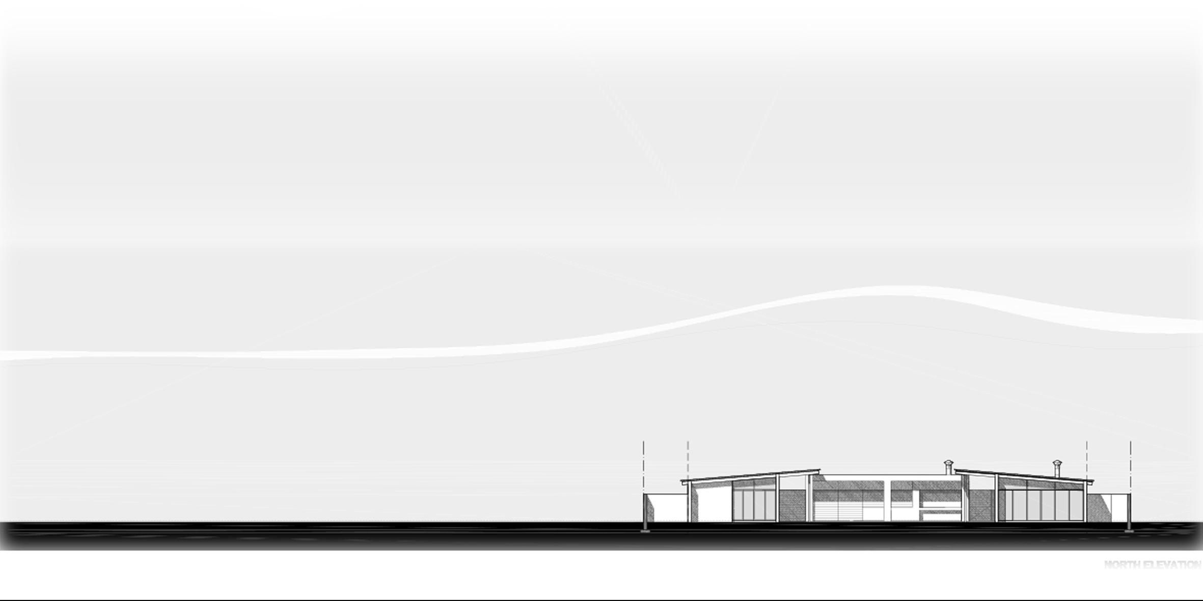 house ongewediva, elevation