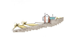 house miglietta, concept elevation