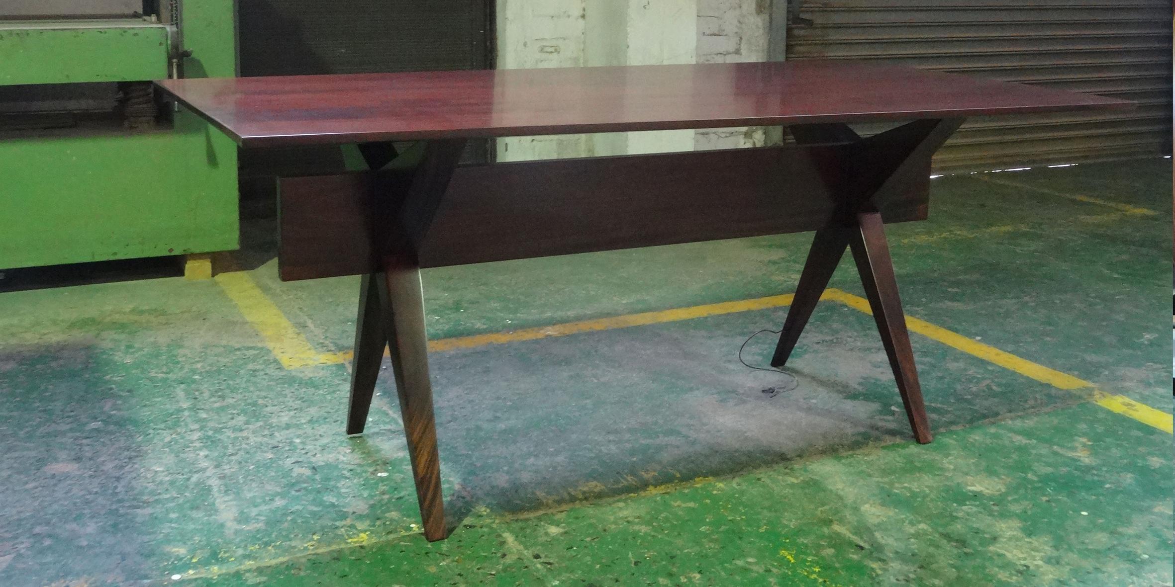 hotel jhb, star desk, 1800 l x 900 w x 740 h , mahogany