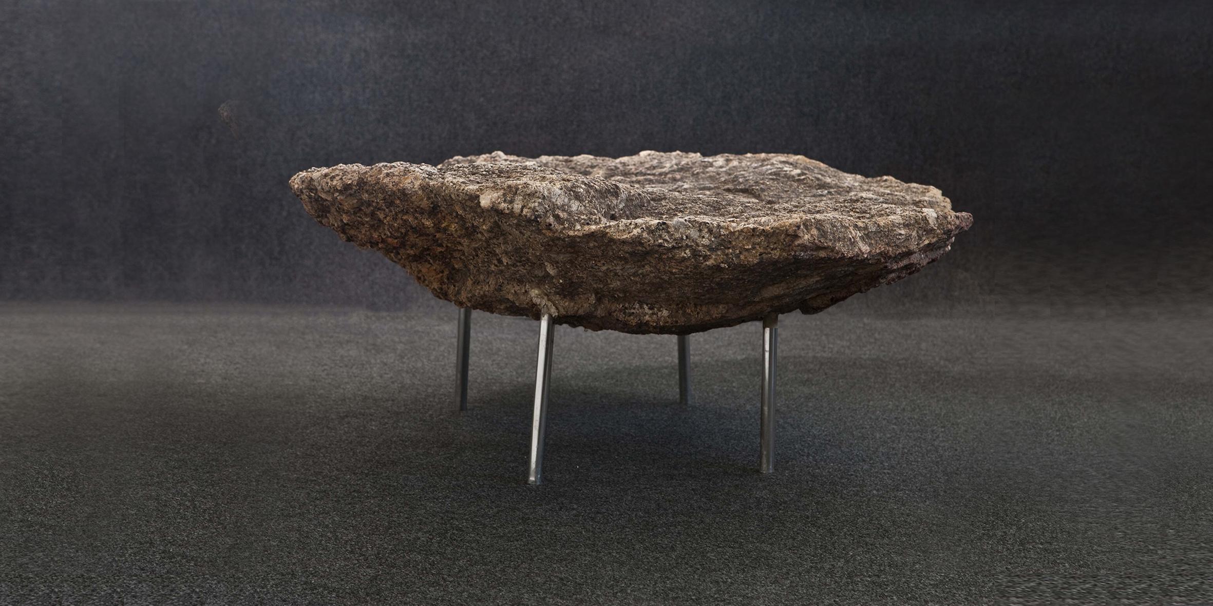 rock table, granite