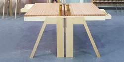 fbs - single startup desk, 1000 l x 720
