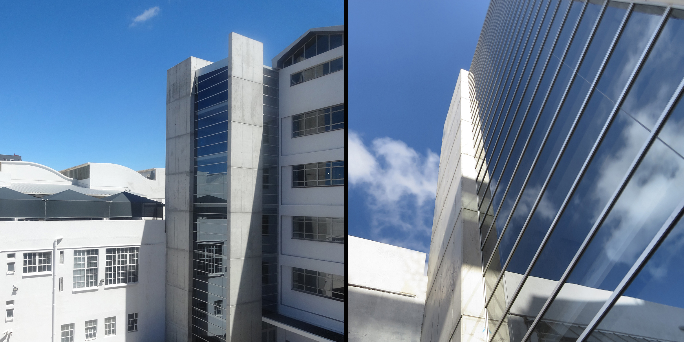 rex trueform, exterior facade