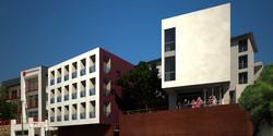 schanzen street, facade