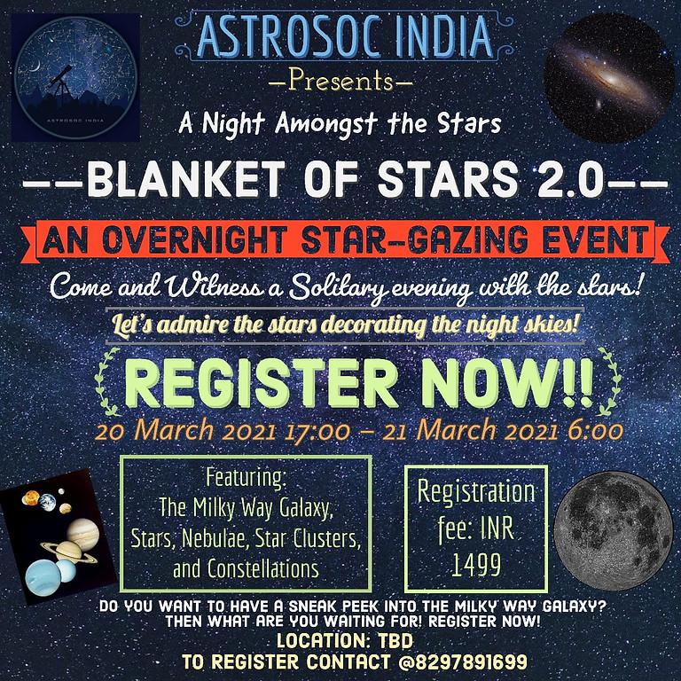 Blanket of Stars 2.0 - A sneak peek into The Milky Way