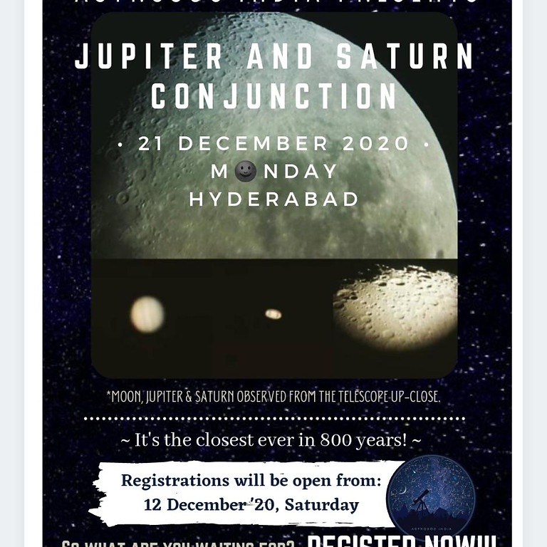 Jupiter and Saturn Conjunction
