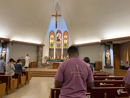 Daily Mass Times @ St. Joseph Catholic Church