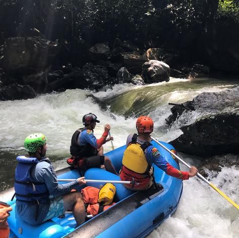 Rafting Río Claro