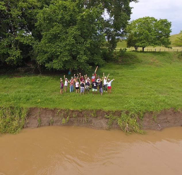 En la actividad de recuperar el Río Magdalena