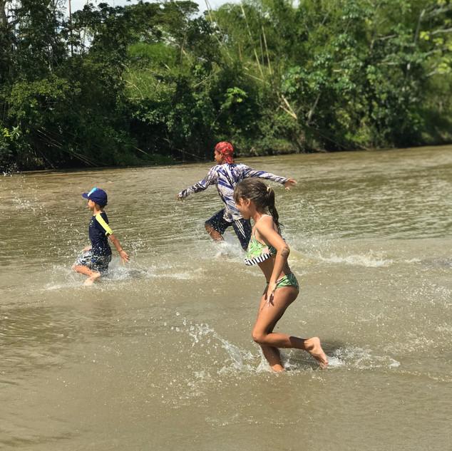 Disfrutando del Río Magdalena
