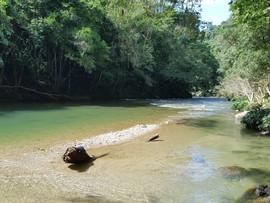 Playa privada Glamping Río Claro