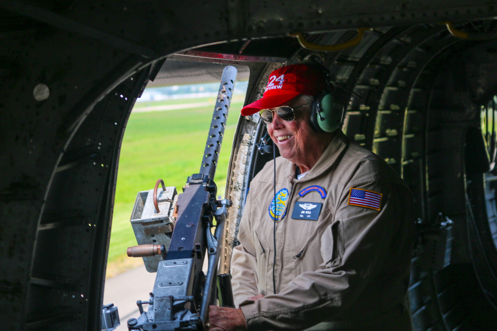 Jim, B-24 Loadmaster