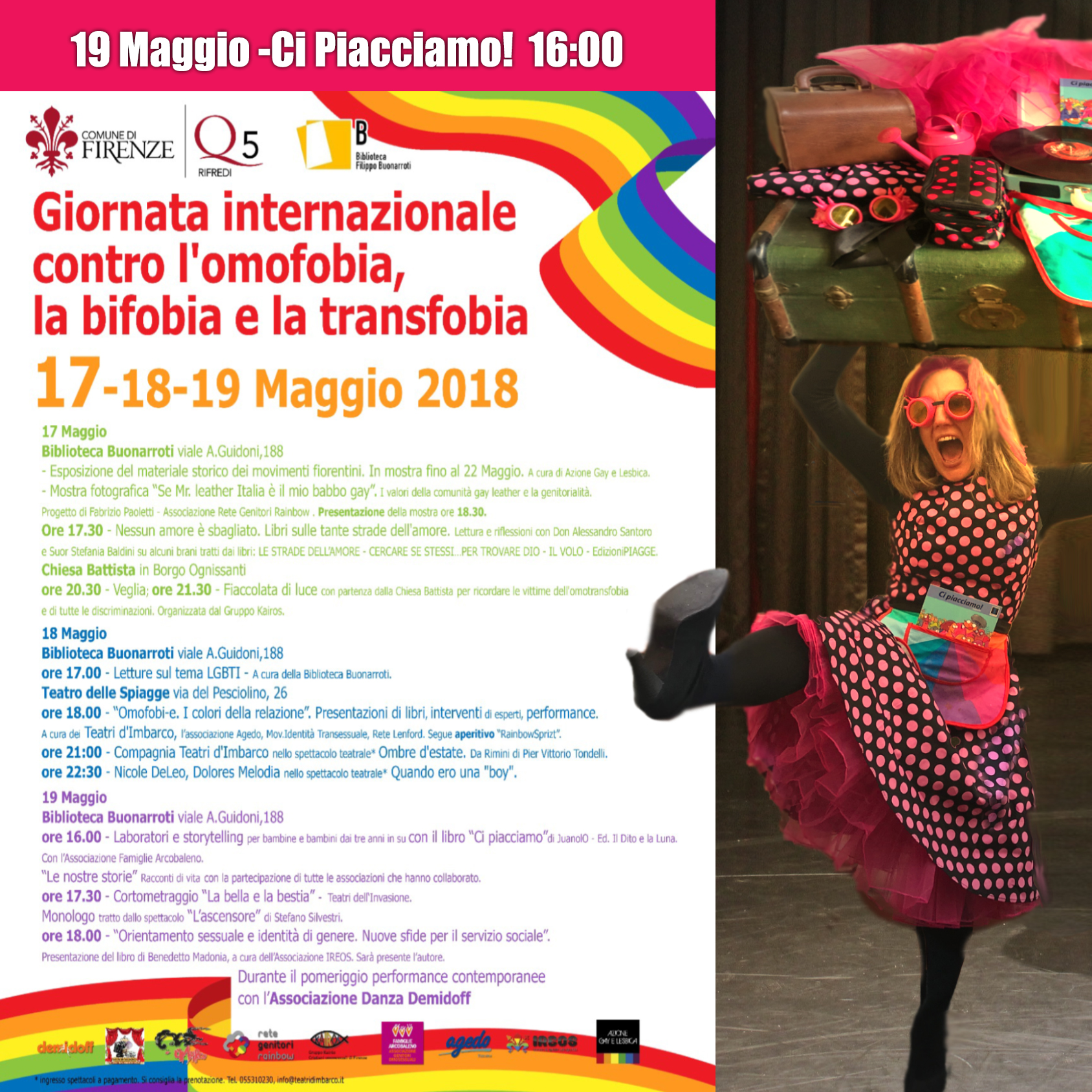 Giornata L'omofobia