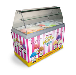 8-Flavor Display Freezer