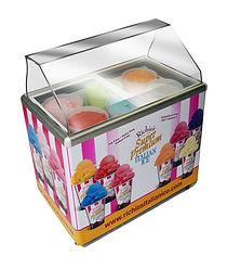 6 Flavor Display Freezer