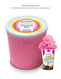 2.5 Gal. Strawberry Bucket