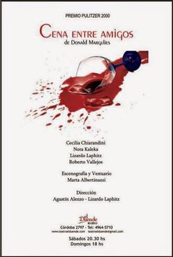 CENA ENTRE AMIGOS (2010-2011)