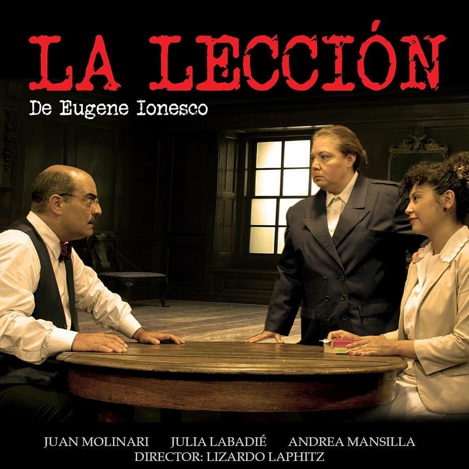 LA LECCIÓN (2018)