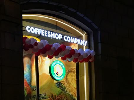 Открытие новой кофейни