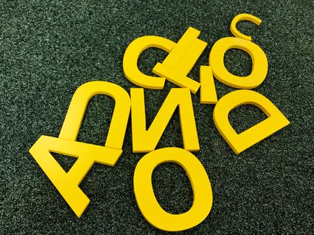 Буквы из мдф