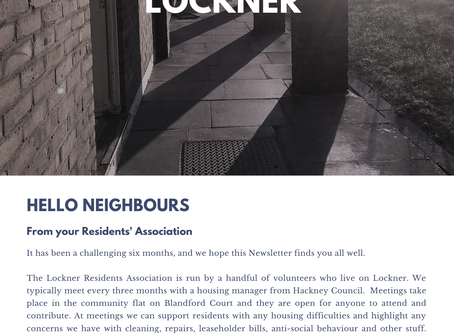 The Lockner Autumn Newsletter 2020