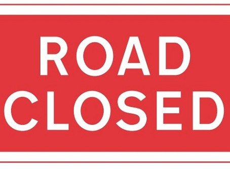 Road Closures Update