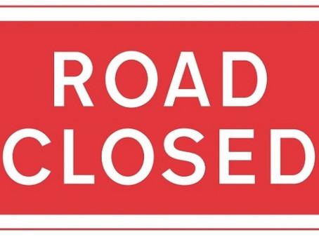 Road Closures Update