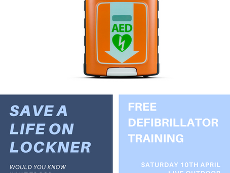 The Lockner Community Defibrillator - it's here!