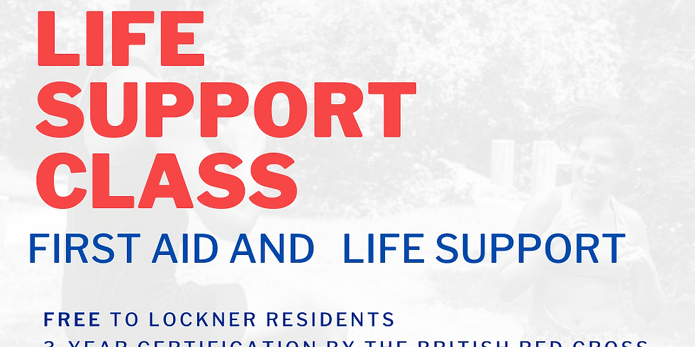 Adult Life Support and First Aid (Certified Course) - FULL - WAIT LIST ONLY