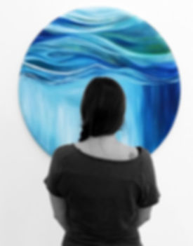 'Beneath the waterfall' Kathryn Wilson