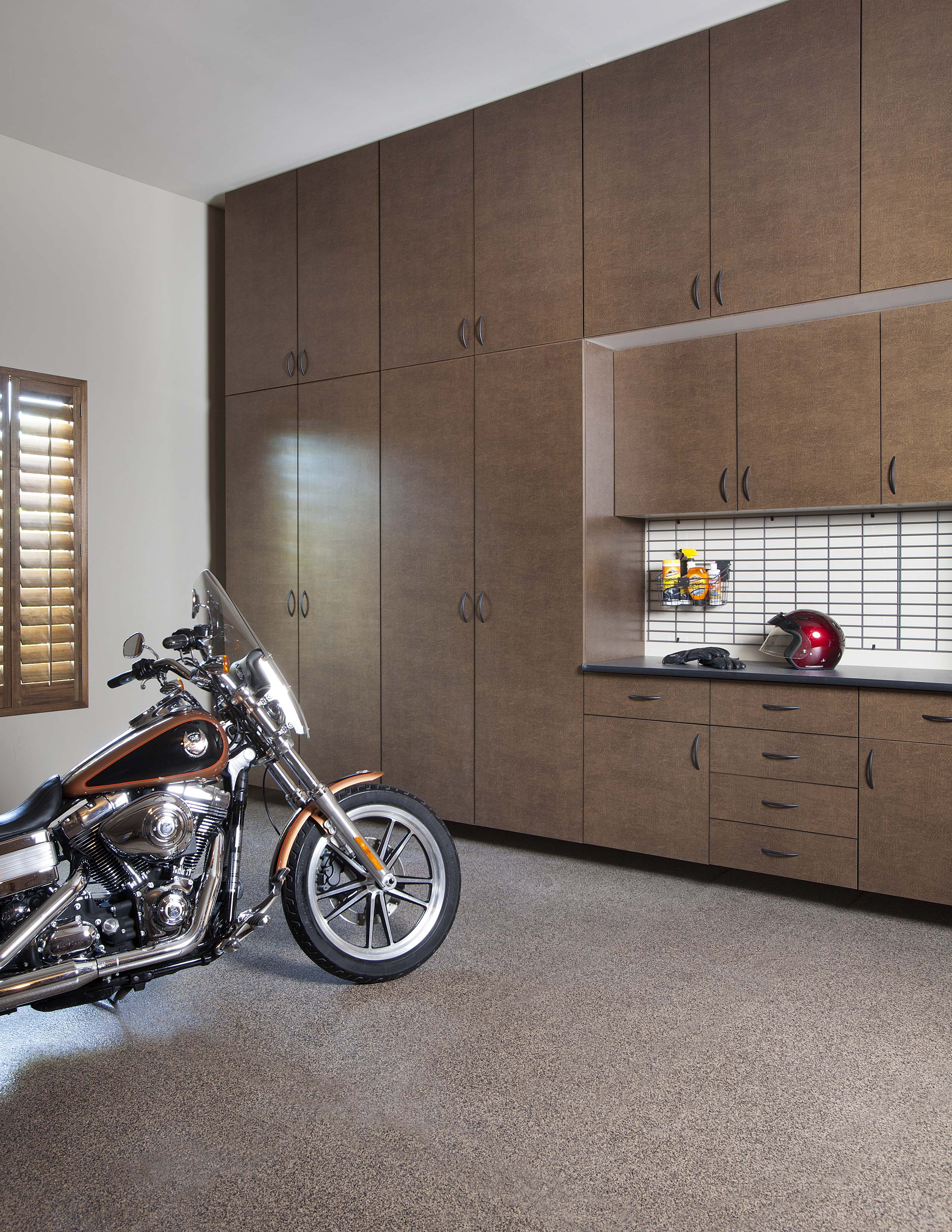Bronze Extra Tall Cabinets