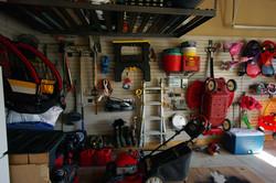 SlatWall Organization Storage