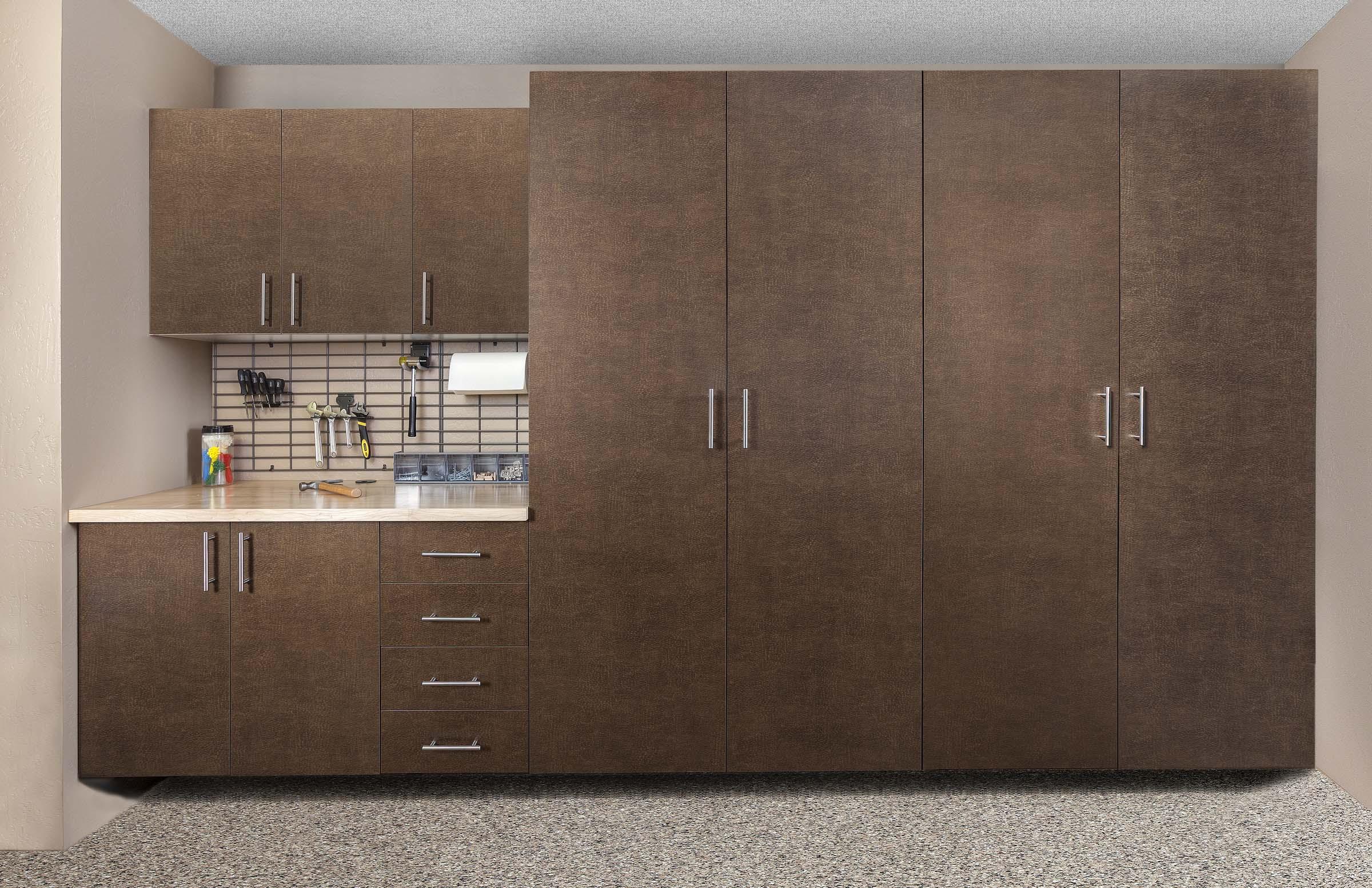 Bronze Cabinet-Butcher Block-Grid