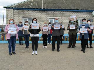 Участие сотрудников Шумячского КЦСОН в акции #ЭтоНашаПобеда