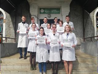 Рославльский медицинский техникум  присоединился в акции #ЭтоНашаПобеда