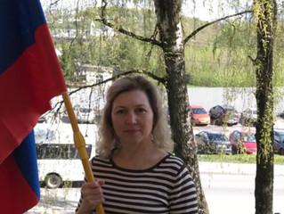 Татьяна Волжская приняла участие в акции #ЭтоНашаПобеда.