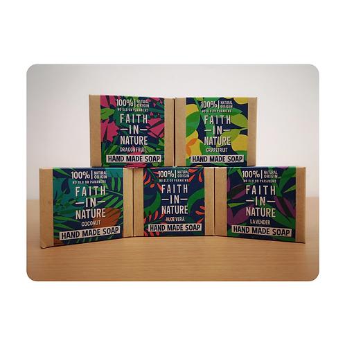 Faith in Nature Hand Made Soap Bar (100g)