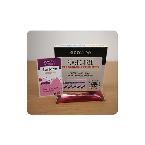 Plastic-free Anti-bacterial Bathroom Cleaner (individual sachet) - Ylang Ylang
