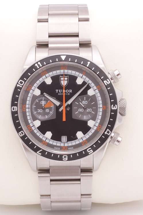 Tudor Heritage 70330N Stainless Steel 42mm Automatic Chronograph Mens Watch