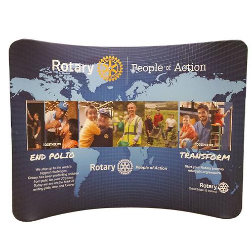 Rotary Backdrop