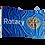 Thumbnail: Rotary Flagpole Flag (Rope &Toggle)