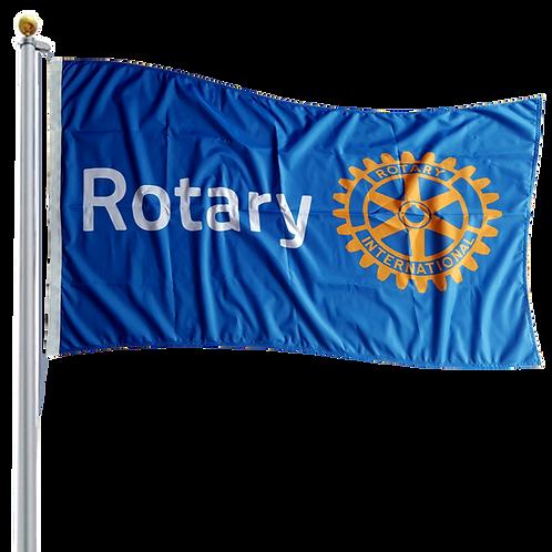 Rotary Flagpole Flag (Rope &Toggle)